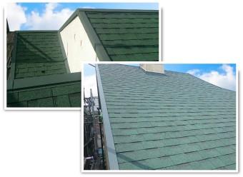 オークリッジスーパーの屋根