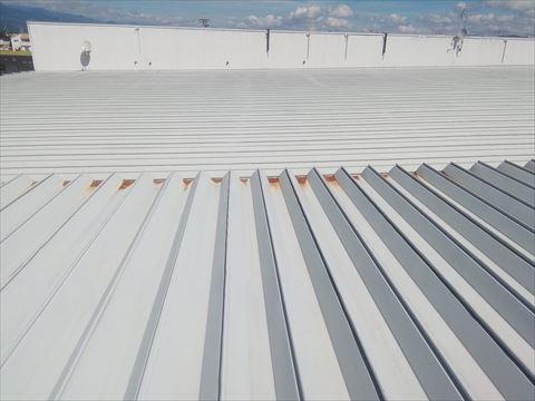 ショッピングセンター屋根塗装