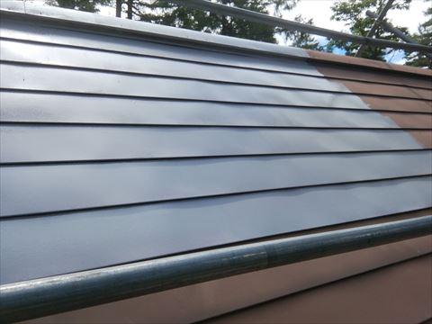 別荘屋根塗装