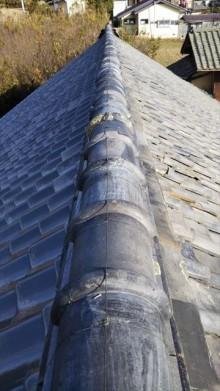 雨漏り補修瓦工事 棟