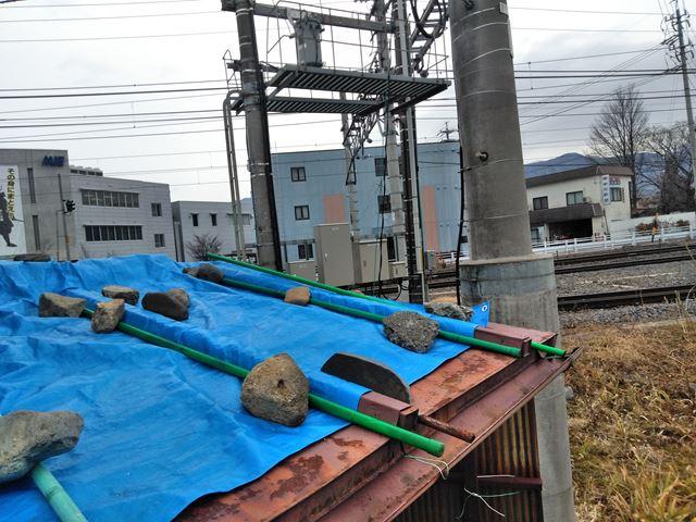 松本市白板屋根修理S邸
