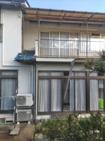 松本市小屋K邸雨樋