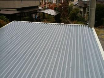 折半屋根補修
