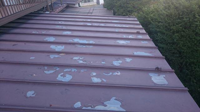 岡谷市川岸屋根カバー工法