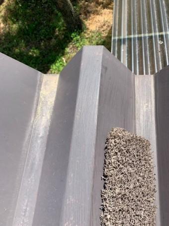 安曇野市折半屋根塗装 (4)