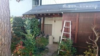 長野市横沢町雨樋インターフォン