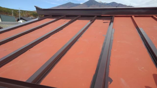 富士見町K邸屋根塗装