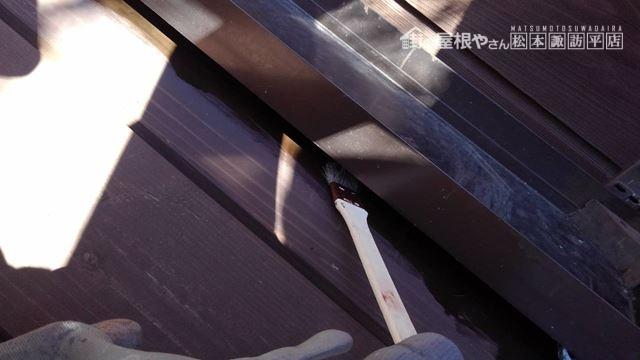 茅野市北山別荘ウッドデッキ塗装