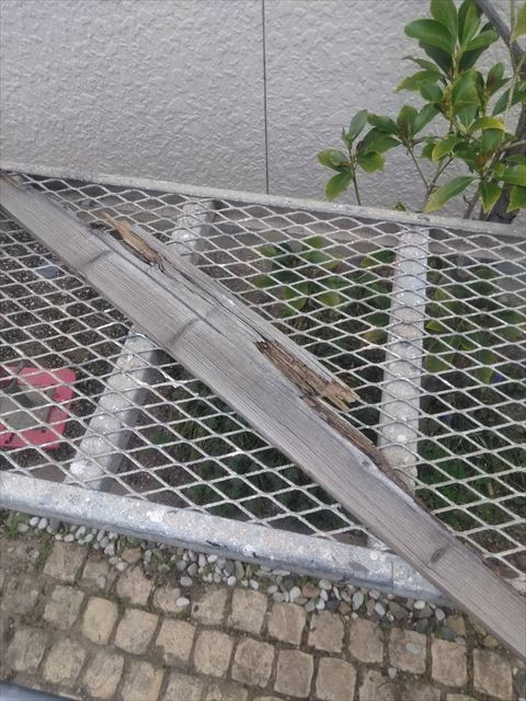 松本市寿I邸棟雨どい