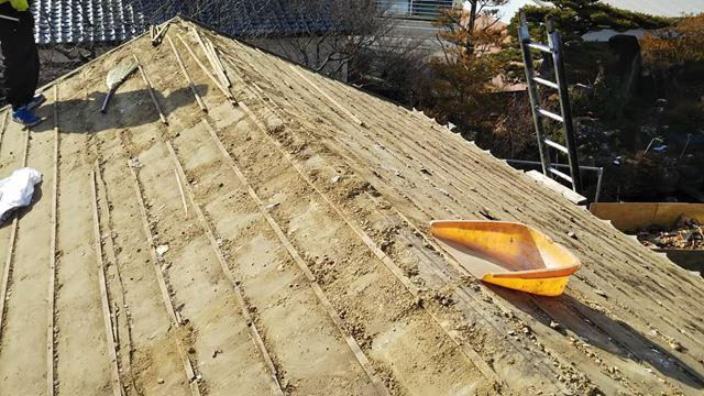 東筑摩郡麻績村M邸屋根葺き替え