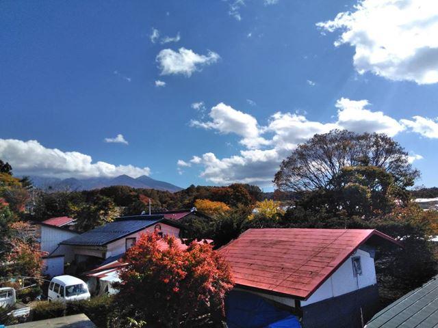 諏訪郡原村台風トタン