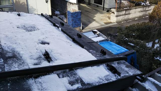 安曇野市穂高T邸雪止め