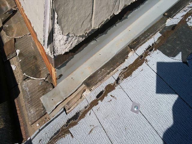 スレート屋根タフワイドカバー工法