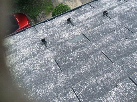 スレート屋根現調