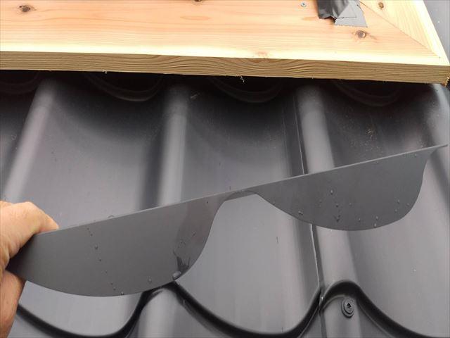 金属瓦葺き替え