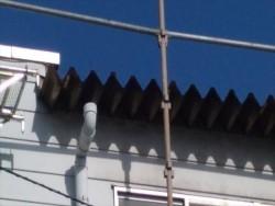 岡谷市塚間町 矢沢様邸 大型雨樋工事