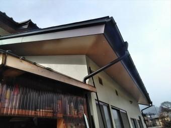 屋根工事完成