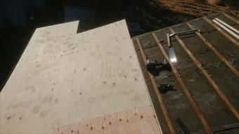 瓦おろし タフワイド施工