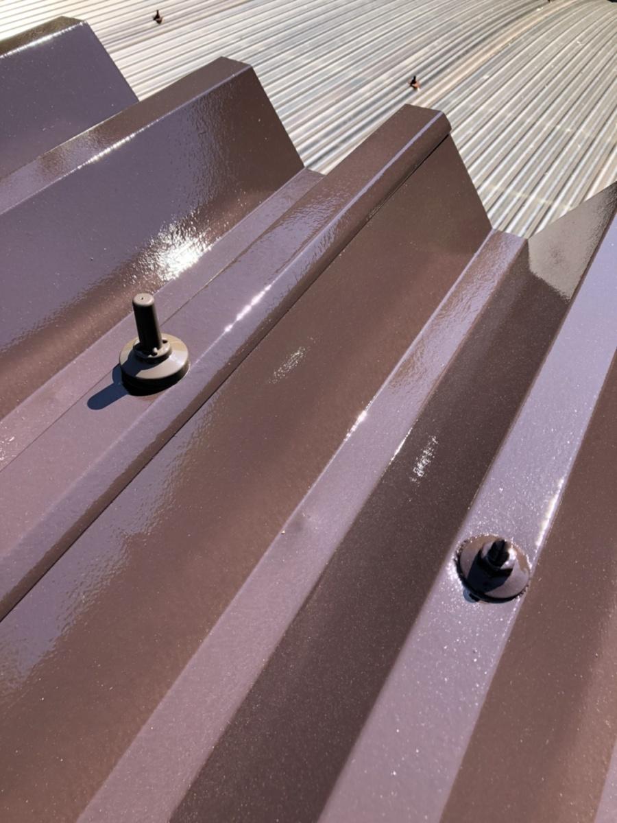 安曇野市折半屋根塗装 (29)