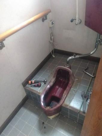 岡谷市本町K邸トイレ