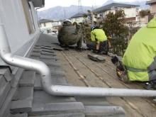 安曇野市穂高屋根葺き替え工事