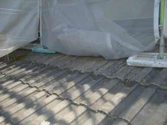 上伊那郡箕輪町 屋根塗装点検