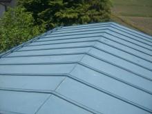 安曇野市穂高 倉庫屋根塗装