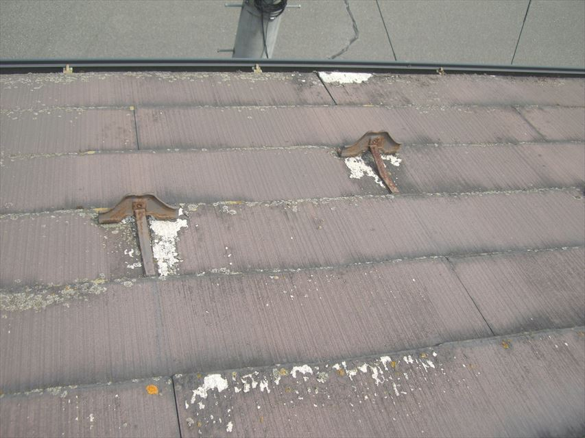 松本市梓川 屋根塗装点検