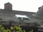 松本市渚 天窓から雨漏り