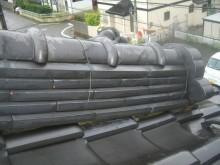 雨漏り瓦補修