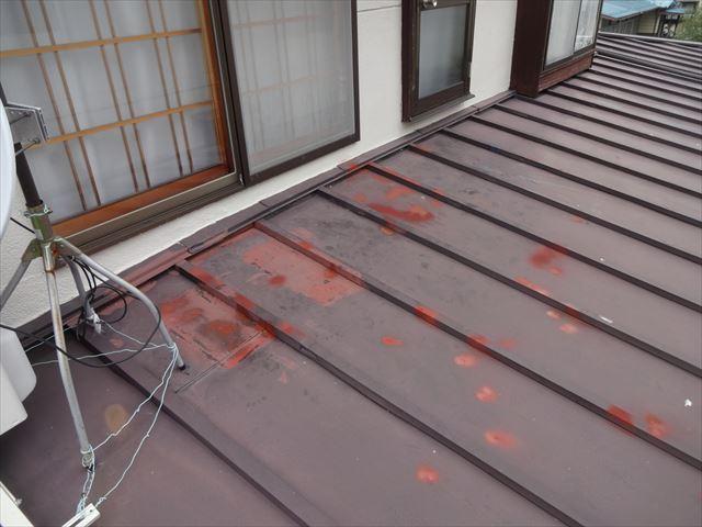 下屋根さび