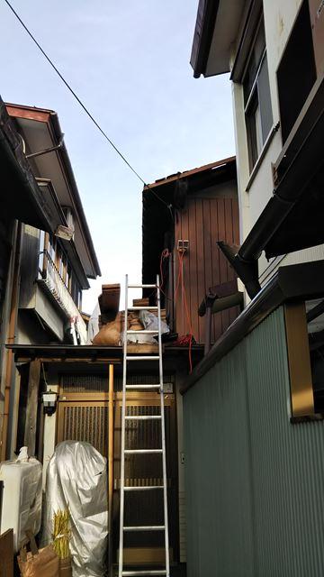 諏訪市小和田F邸屋根葺き替え