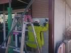 塩尻市広丘ドッグサロン外壁張替え