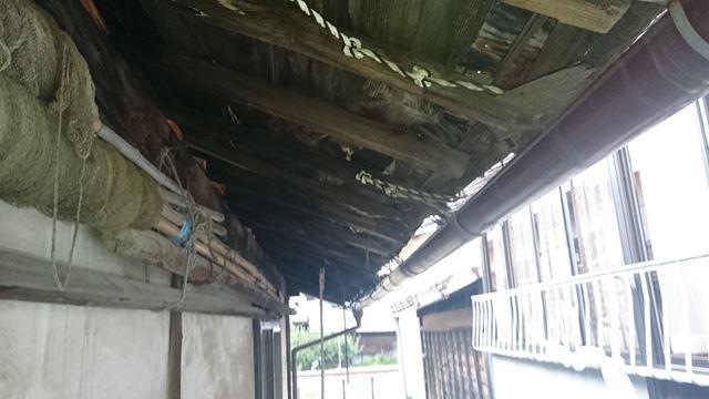 諏訪市小和田 屋根葺き替え