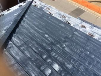 鋼板屋根塗膜劣化