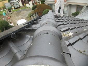屋根瓦積直し