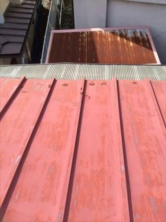 屋根葺き替え下見