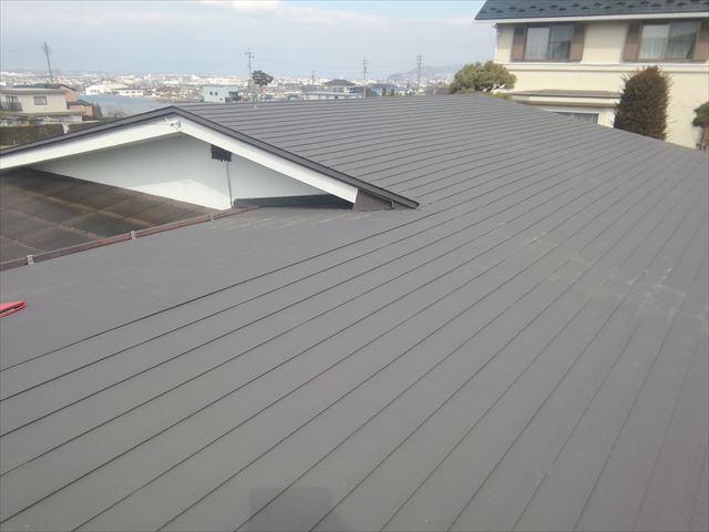 松本市寿屋根下見