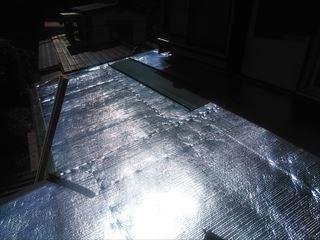 諏訪市にて新しい屋根材への葺き替え工事が始まりました