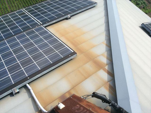 ガルバ屋根塗装