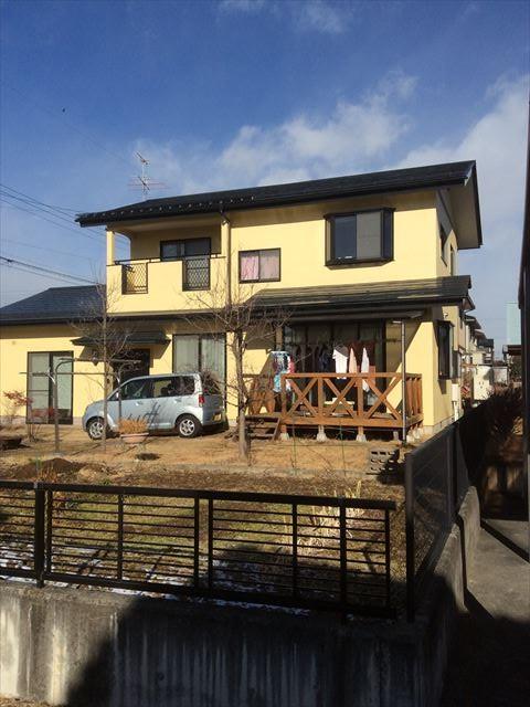 松川村M様邸完工