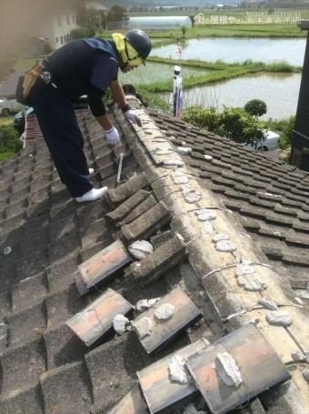 セメント瓦葺き替え