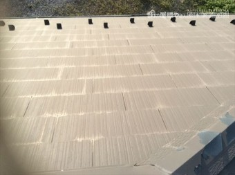 塩尻広丘屋根塗装