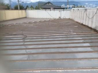 松本塾屋根塗装
