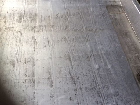 塩尻市広丘野村にパルコンの陸屋根の防水塗装の下見をしてきました