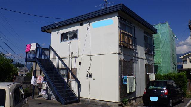 屋根 外壁 アパート