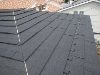 大屋根仕上がり