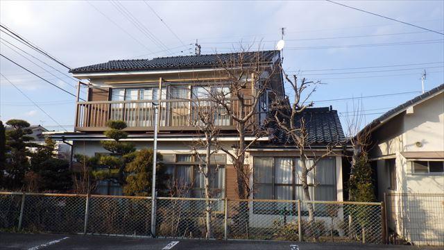 松本市両島瓦から板金屋根へ施工前