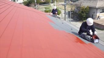 安曇野市 三郷 屋根 塗り替え 板金