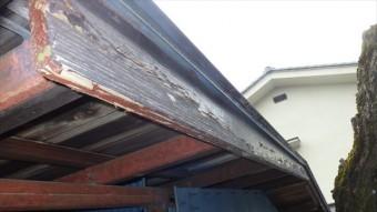 破風板 木 塗装 剥がれ